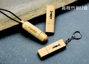 Wooden USB Flash Drive (S-GFM006)