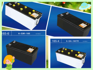 12V Car Auto Start Battery with CE, Soncp. ISO DIN and JIS N80 pictures & photos