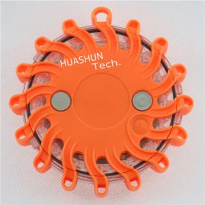 Orange Multifunction Emergency LED Strobe Light