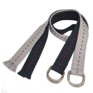 D Ring Buckle Classic Style Fashion Cotton Belt (KY1624) pictures & photos