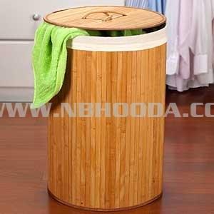 Bamboo Laundry Hamper (HD0601)