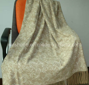 Wool Throw, Wool Blanket, Throw (CMT-0901079) pictures & photos