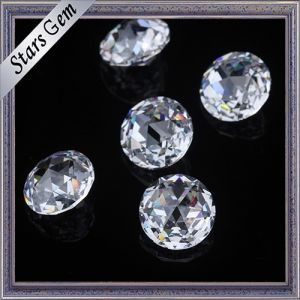 High Quality Clear White Color Brilliant Cut Cubic Zirconia CZ Stones for Sale pictures & photos