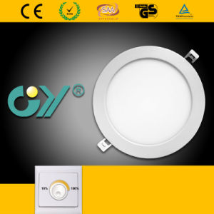 Dimmable 16W Round Super Slim Recessed Mounted LED Panellight pictures & photos