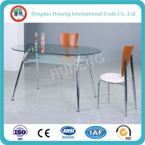 Flat or Curved Tempered Table Glass pictures & photos