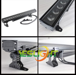 UV LED Bar Light 18PCS*18W RGBWA+UV 6in1 CREE LEDs with, Ce, RoHS, UL pictures & photos