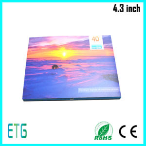 4.3 Inch HD LCD Screen Digital Brochure for Best Sale pictures & photos