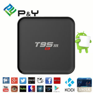 Popular T95m Android TV Box with LED Display pictures & photos