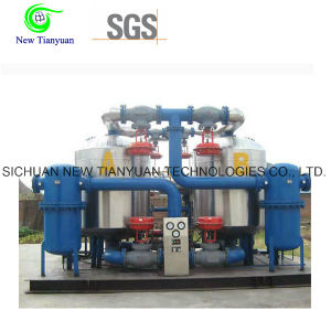 Air Cooling 4000nm3/H Capacity CNG Dehydration Unit