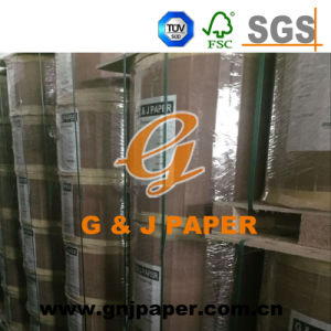 100% Virgin Wood Pulp Big Rolling Thermal Paper for Receipt pictures & photos