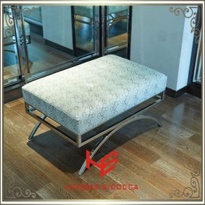 Hotel Stool (RS161804) Stool Bar Stool Cushion Outdoor Furniture Store Stool Shop Stool Living Room Stool Restaurant Furniture Stainless Steel Furniture pictures & photos