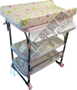 Multifunctional Baby Changing Table En12221-2008 Approved pictures & photos
