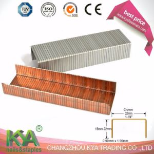 32 Series Copper Carton Closing Staples for Packaging pictures & photos