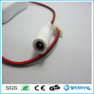 Mini on/off Switch Connector & DC Adapter for 2pin Single Color LED Strip 12V pictures & photos