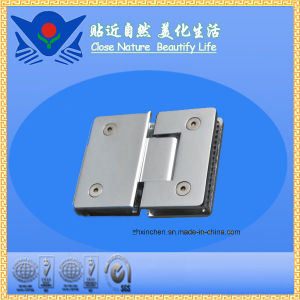 (XC-C180) 180 Degree Stainless Steel Glass Door Hinge pictures & photos