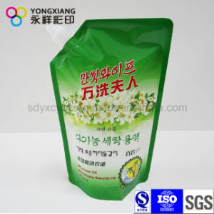 Stand up Detergent Plastic Packaging Bag with Spout pictures & photos
