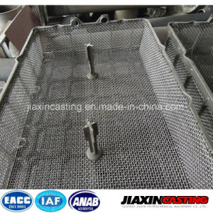 Heat Resistant Treatment Casting Furnace Basket on Hot Sale pictures & photos