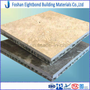 China Manufacture Travertine Marble Stone Laminated Stone Panel pictures & photos
