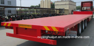 17.5 Meters Low Bed Trailer Truck pictures & photos