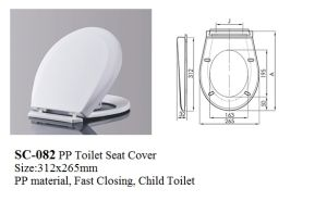 Sc-082 Plastic Child Toilet Seat Cover, Kids Toilet Seats pictures & photos