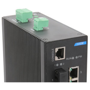10 Ports Industrial Ethernet Network Switch with 2 Gigabit Tx pictures & photos