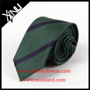 Men Fashion Handmade 100% Silk Woven Neck Tie Slim pictures & photos