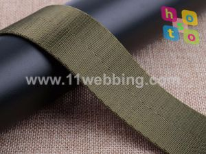 Many Colors Herringbone Polyester Imitation Nylon Webbing Stock Supply pictures & photos