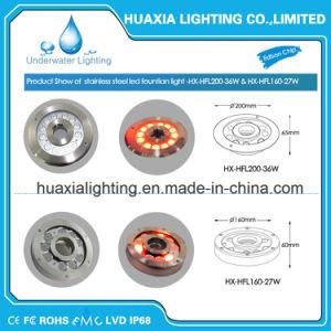 IP68 Stainless Steel Waterproof 36watt Fountain Nozzle LED Underwater Light pictures & photos