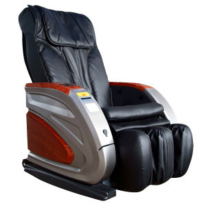 6 Wheels Kneading Ball Bill Operated Massage Chair pictures & photos