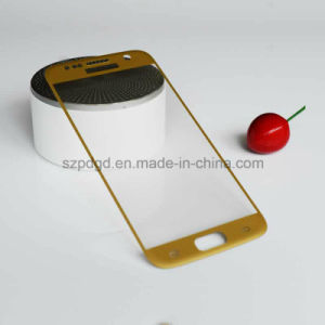 3D 9h Curved Edge Tempered Glass Protective Screen Protectors for Samsung S7 Tempered Carving Glass pictures & photos