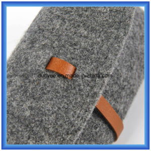 OEM Factory Make Wool Felt Casual Hand Bag, Promotional Gift Sun Glasses Packing Briefcase Bag pictures & photos