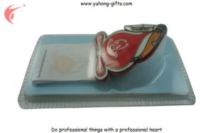 Customized Fridge Magnet with Blister Card and Paper Notebook (YH-FM099) pictures & photos