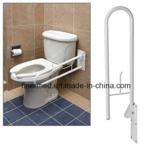 Fold Handicap Toilet Disabled Handrails pictures & photos