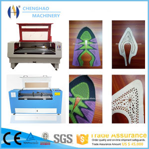 60W 100W CO2 Laser Engraving Machine Leather Shoes Upper Shoe Vamp Laser Cutting Machine pictures & photos