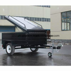2016 Power Coated Canopy Trailer pictures & photos