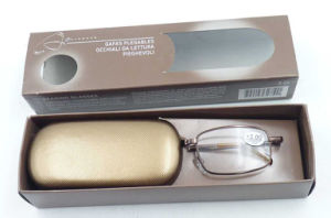 RM17132 Quality Foldable Reading Glasses with Best Packing Box pictures & photos