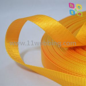 Gold Yellow Herringbone Webbing for Bag Accessory pictures & photos