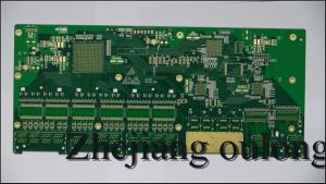 2 Layer Blue Solder Mask PCB with Hal Coating pictures & photos