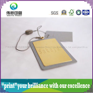 Hot Stamping Paper Printing Hang Tag pictures & photos