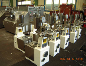 Laboratory High Pressure Homogenizer for Food, Milk, Dyestuff, Paint with Ultra Fineness pictures & photos