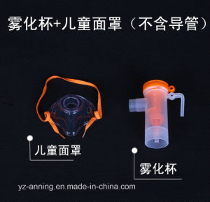 China Supplier PVC Sterilized Disposable Nebulizer Mask with Oxygen Tubes pictures & photos