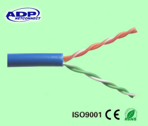 Best Price 2 Pairs 0.50mm Cat5e CCA LAN Cable pictures & photos