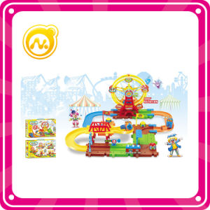 High Quality Building Block Train Toy with Ferris Wheel pictures & photos