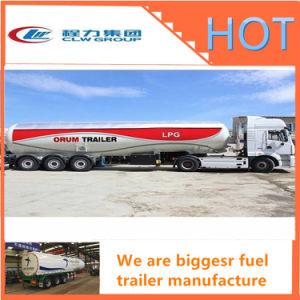 Oil Tanker Crude Oil Tank Semi Trailer Fuel/Petroleum 45000L Steel Fuel Tanker Semi Trailer pictures & photos