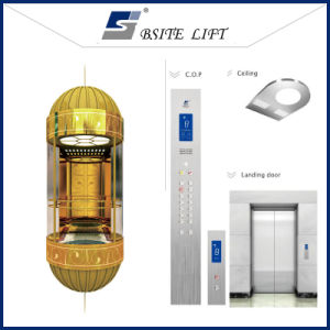 Sightseeing Glass Elevator with Beautiful Design pictures & photos