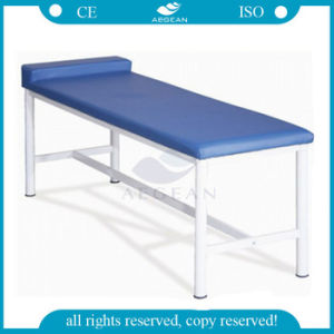 AG-Ecc02 with Soft Mattress Ce&ISO Approved Hospital Sample Examination Table pictures & photos