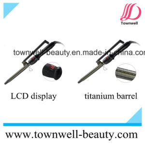 Looking for Distributor Professional LCD Display Titanium Hair Curler pictures & photos