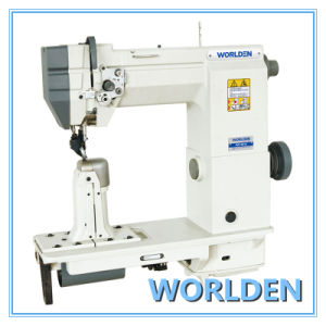 Wd-9910 Single/Double Needle Compound Feed Dost-Bed Sewing Machine pictures & photos