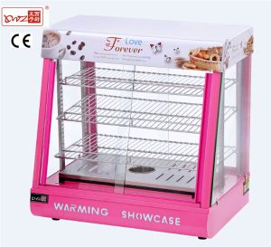 Electric Glass Food Warmer Display Showcase/Catering Equipment/Restaurant Equipment pictures & photos