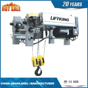 High Quality Dual Speed Electric Wire Rope Hoist for Crane (EWRH) pictures & photos